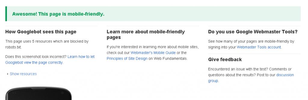 XXSi tu Web no está adaptada para móviles Google te penalizará a partir del 21 de abril