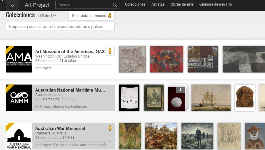 XXGoogle apuesta al arte con su Cultural Institute