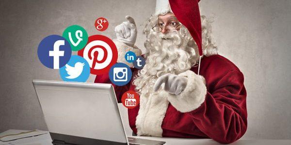 Ideas para utilizar tus redes sociales en Navidad