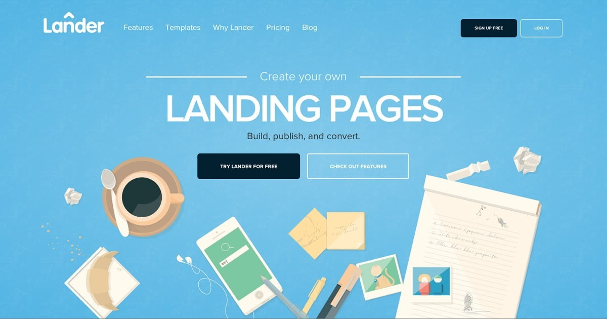 XXHerramientas para crear landing pages