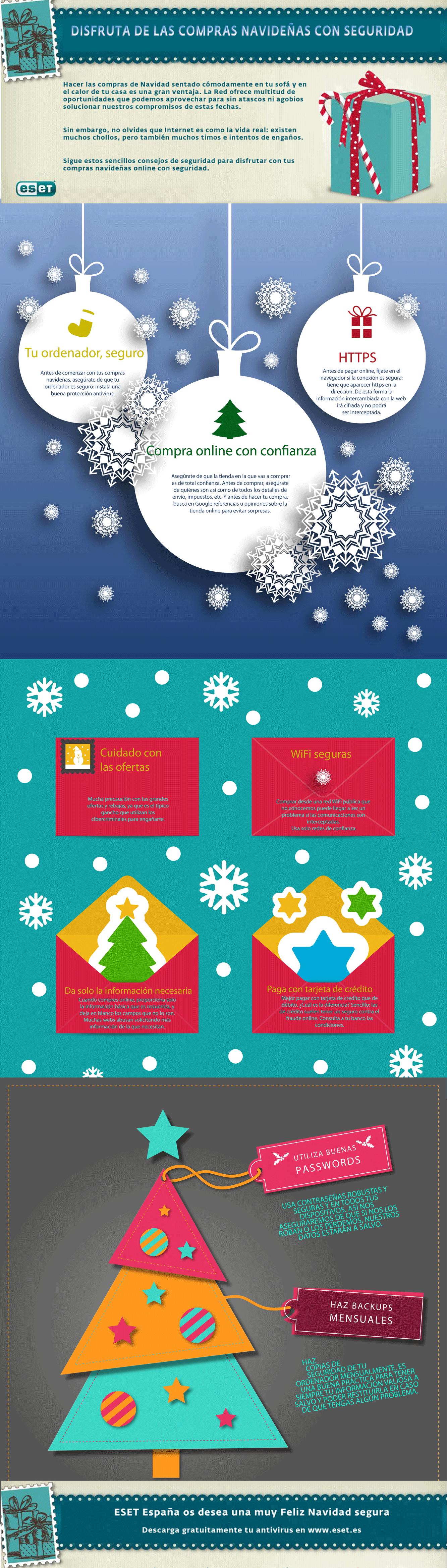 XXConsejos para realizar compras online en Navidad