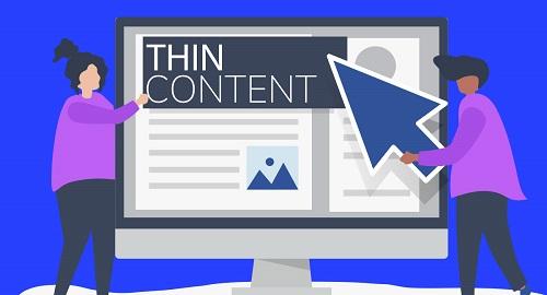 XXCómo afecta el thin content a una web